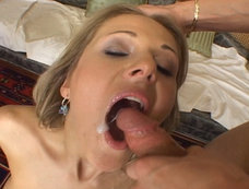 Jane Darling vs 3 in a Gang Bang with Lots of Double Penetration