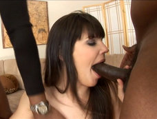 Bobbi Starr Has Interracial Rebound Sex - 2 on 1 with Double Penetration