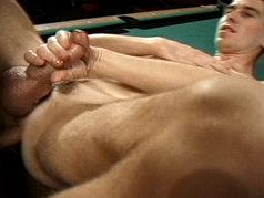 Twinks with Big Cocks Share Anal Love At the Pool Hall