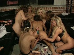 Gang Fucked Whores 1 - Scene 4