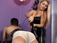 Mistress Nicolette Is A Dominatrix 1 - Scene 2