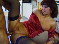Belinda Bayer Rewards the Kitchen Staff with Anal