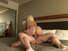 Hardcore Blonde Erin Snow Has a Fucking Surprise!