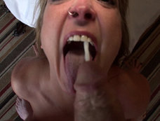 Jackie Sawyer the MILF Does It All, and Swallows