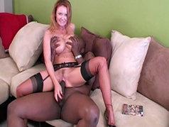 Redhead MILF Janet Mason Takes Lex's Big Dick