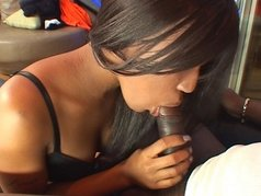 Nasty Black Amateur Blow Jobs 6 - Scene 1