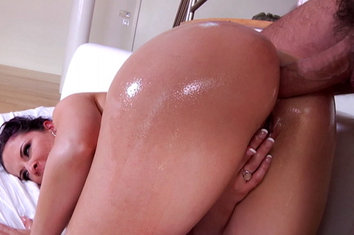 Caroline pierce first anal