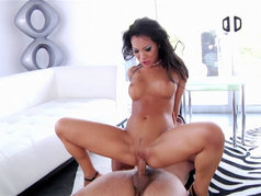 Asa Akira Wants Two Servings of Cum to Swallow