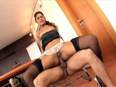 Defrancesca Gillardo Gets Anal at the Office
