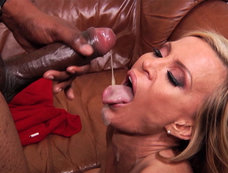 Amber Lynn Stops for an Interracial Anal Visit
