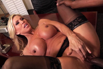 Amber lynn interracial anal