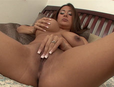 Penelope Piper - Chubby Brunette Swallows After Anal