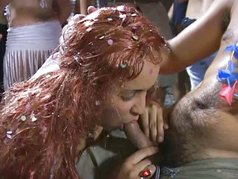 Latin Girls Gone Wild Fun In The Foam - Scene 5