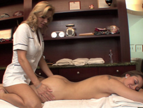 Tanya Tate Takes Massage Client Dani Daniels Home