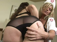 Horny Lesbians At Work 2 - Scene 4
