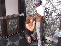 Nasty Black Amateur Blow Jobs 9 - Scene 1