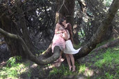 Bella Rossi and Missy Minks - Lesbians in the Woods
