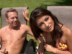 A.J. Estrada Gets Fucked While Her Man Watches