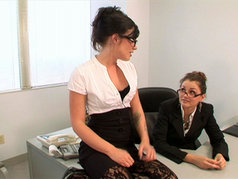 Allie Haze and Andy San Dimas - Staff Morale