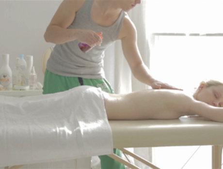 Blonde Massage Customer Gets Whatever She Wants