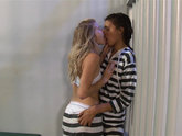 Arya Fae Seduces Kat Arina in Jail