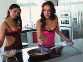 Emy Reyes and Vicky Chase - E-Z Lay Ovens
