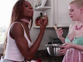 Kinsley Karter and Riley Nixon - Bake a Cake and Eat Me Too