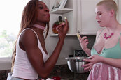 Kinsley Karter and Riley Nixon - Bake a Cake and Eat Me Too