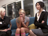 Diana Prince, Heather Starlet, and Lolly Foxx  How the Bad & Beautiful Get Out of Trouble