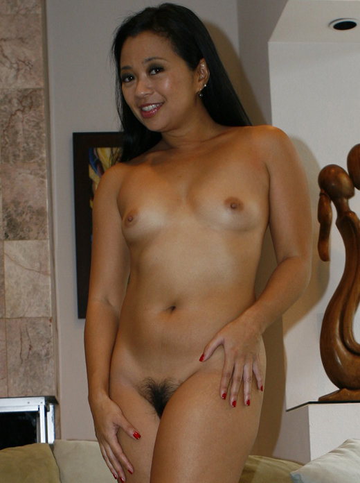 Hairy asian milf lucky takes a banging from bbc z