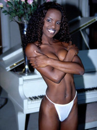 Ebony babe sasha monroe fucks her ass 18flirt 6