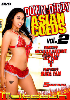 Down And Dirty Asian Coeds #2