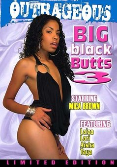 Big Black Butts #3