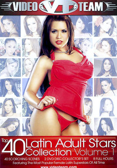 Top 40 Latin Adult Stars Collection #1