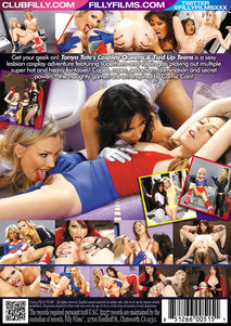 Back cover - Tanya Tate's Cosplay Queens and Tied Up Teens