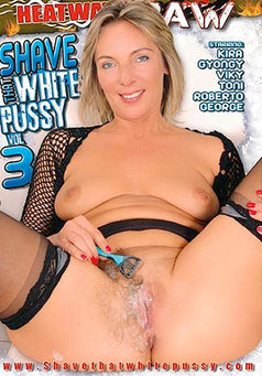 Shave That White Pussy #3