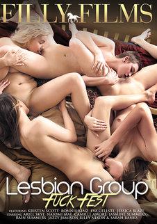 Lesbian Group Fuck Fest