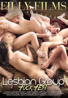 Lesbian Group Fuck Fest #1
