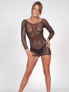 Black Fish Net Suit...Do You Like It?