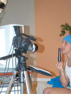 Me Doing A Live Show!