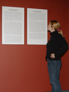 Christine Young Visits The Museum!