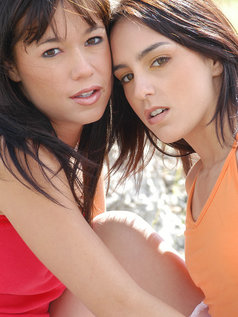 My friend cute Angie