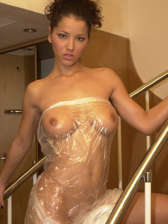 Angel Dark Gets Deep Dicked By A Big Cock While Her Tits Shine In This Photo Set