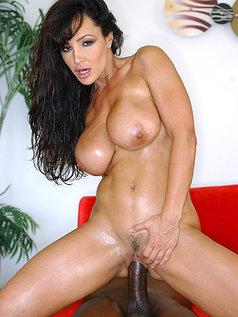 Lisa Ann Black Dick Pumped In Pics!