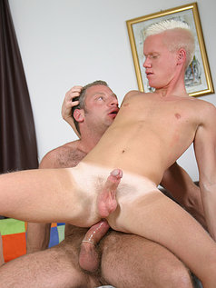 Christian Volt Shoves His Muscle Cock Up Marc Winters' Ass!