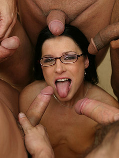 Brandon Iron Presents India Summer With A Face Covered In Ball Batter!