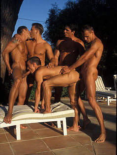 The Gaystar Pool Party