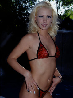 Kristy Plays Late - Hot Blonde Does Peter North