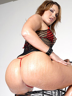 Dana Dearmond and Flower Tucci Baring Two Fine Asses