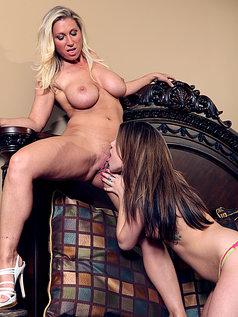 Devon Lee and Maxi Booty - Mutual Lesbian Seduction